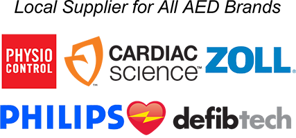 Local Supplier for All AED Brands